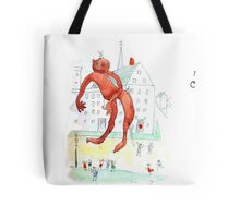 The Chewing Gum Man Tote Bag