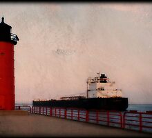 Pierhead Lighthouse © by Dawn M. Becker