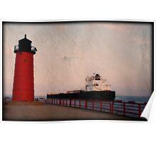 Pierhead Lighthouse © Poster