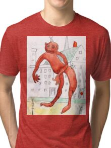 The Chewing Gum Man Tri-blend T-Shirt