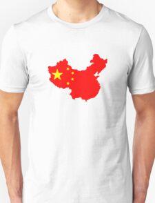 Map of China Unisex T-Shirt
