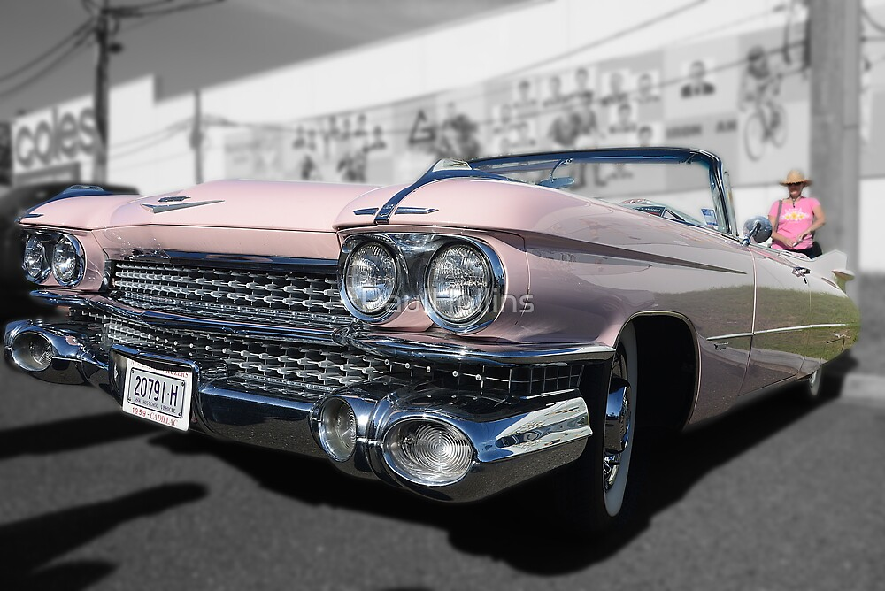 Pink Cadillac by PaulHollins