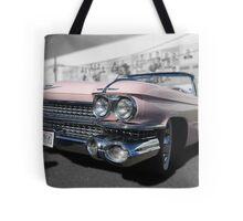 Pink Cadillac Tote Bag