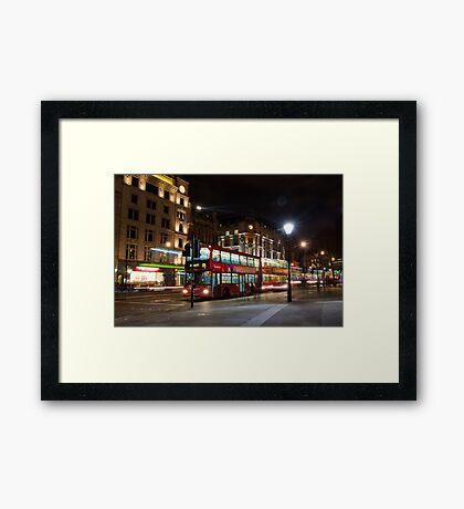 London Buses Framed Print
