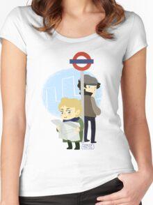 deerSTALKER Women's Fitted Scoop T-Shirt