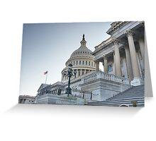 Powerful Capital Greeting Card