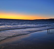 Sunset at the Beach by JimSchneider
