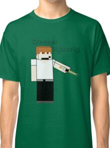 Creeper's Sonic Screwdriver Classic T-Shirt