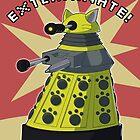 Yellow Kitty Dalek by NeroStreet