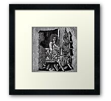 She Waits Framed Print