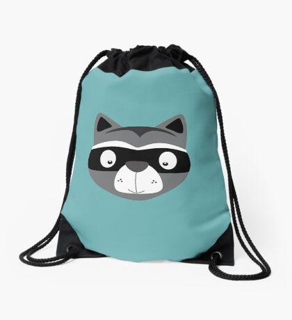 Racoon Drawstring Bag