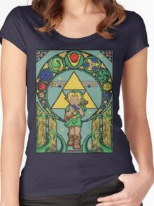Link's Art Nouveau Women's Fitted Scoop T-Shirt