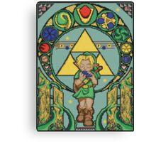 Link's Art Nouveau Canvas Print