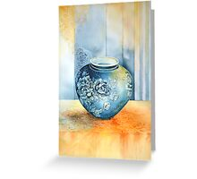 Ginget Pot 2  Greeting Card