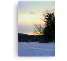 A View From the Lake Canvas Print
