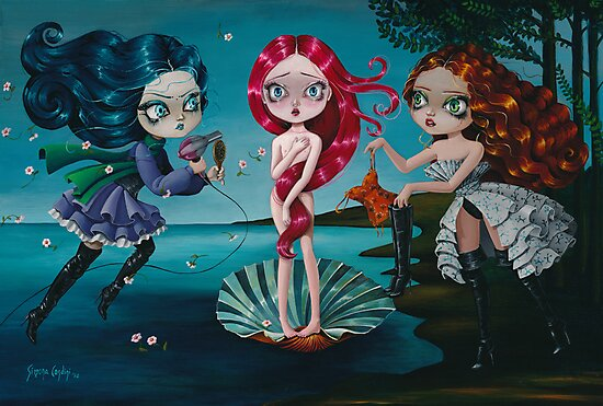 The Birth Of Venus by Simona Candini