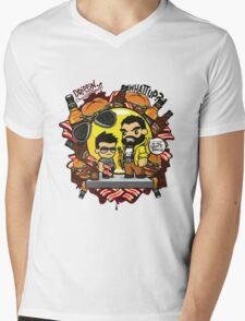 Sauce Bause Mens V-Neck T-Shirt