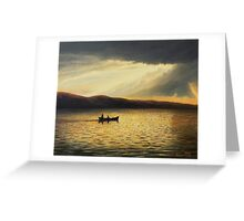 The Bay of Silence Greeting Card