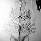 Hand Tower 2 . . . in process by evon ski