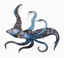 Giant Inky Squid by Amberella