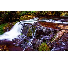 Waterfall in Lamington National Park HDR Photographic Print