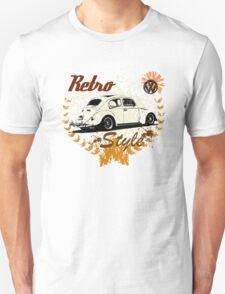 Retro Style BUG T-Shirt Unisex T-Shirt