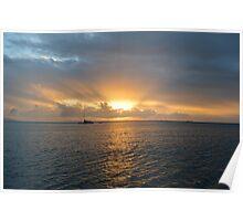 Whitsunday Sunset Poster