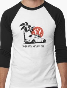 Legends Never Die - Retro BUG T-Shirt Men's Baseball ¾ T-Shirt