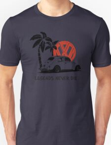 Legends Never Die - Retro BUG T-Shirt T-Shirt