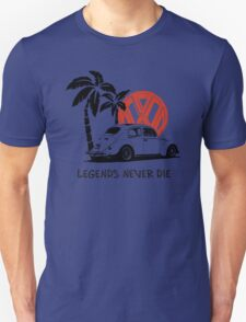 Legends Never Die - Retro BUG T-Shirt Unisex T-Shirt