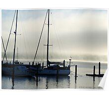 Meandering Mist. Poster