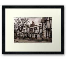 Lambton Arms Hotel Framed Print