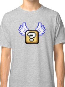 Flying question block Super Mario World Classic T-Shirt