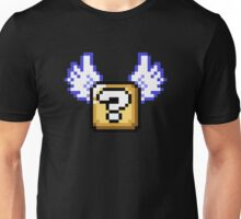 Flying question block Super Mario World Unisex T-Shirt