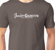 Junior Gazette (white logo) Unisex T-Shirt