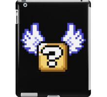 Flying question block Super Mario World iPad Case/Skin