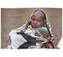 Masai Woman Poster