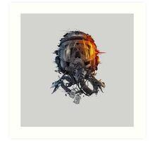 battlefield death pilot Art Print