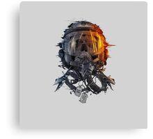 battlefield death pilot Canvas Print