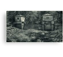 The Secluded Dam Canvas Print