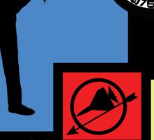The Archer Games Sticker