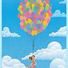 Balloon Girl by Wyattdesign