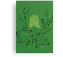 Green Metamorphosis Canvas Print