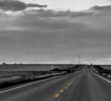Long Road Ahead Sticker