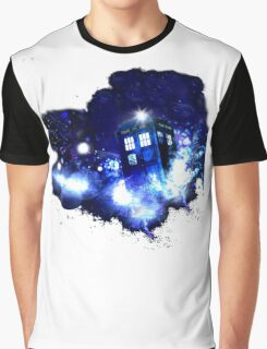 The Tardis Graphic T-Shirt
