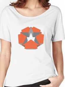3d Star - Red Women's Relaxed Fit T-Shirt