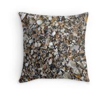 Shells Wallpaper Throw Pillow
