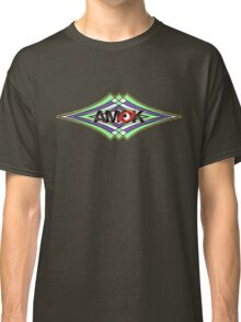 AMOK geometric waves Classic T-Shirt