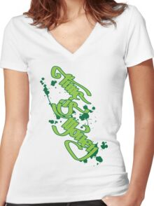 Time is Money Women's Fitted V-Neck T-Shirt