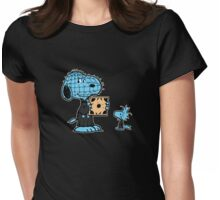 Hellraisin' peanuts Womens Fitted T-Shirt